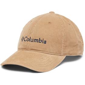Columbia Lodge Adjustable Back Ball Cap, delta corduroy/gem logo